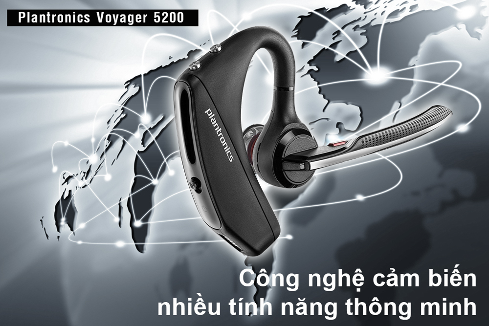 Tai Nghe Bluetooth Plantronics Voyager 5200