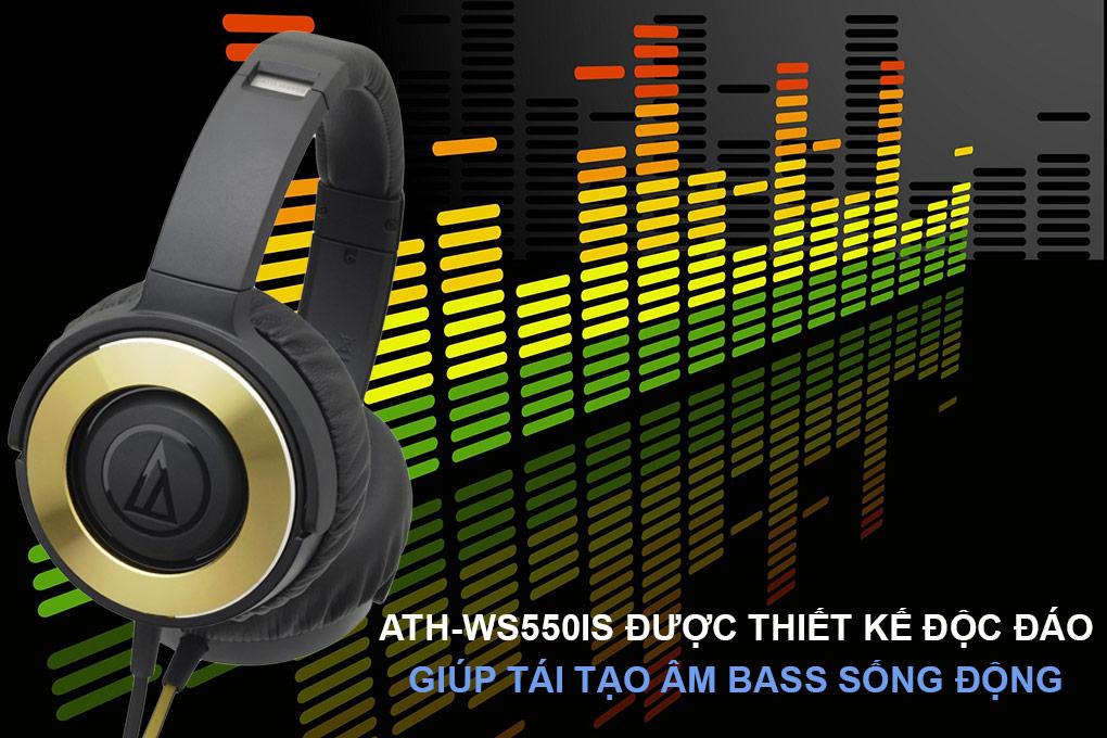 Kết quả hình ảnh cho Audio Technica ATH-WS550iS