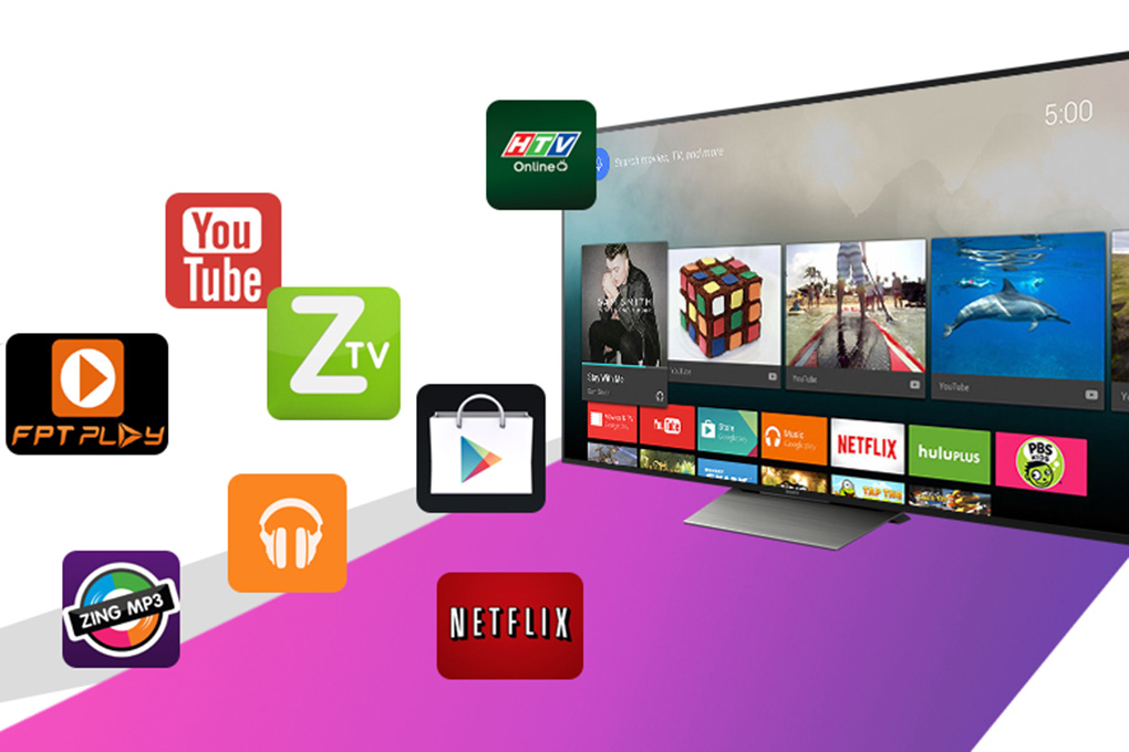 Android Tivi Sony 65 inch KD-65X8500D