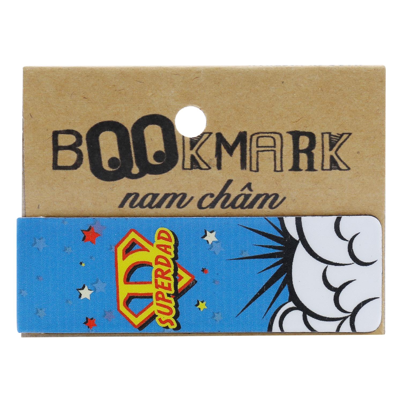 Bookmark Nam Châm Kính Vạn Hoa - Dad Is My Hero
