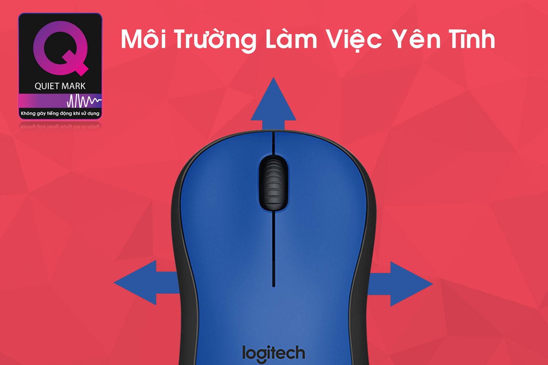 Chuột Không Dây Logitech M221 - Hàng Chính Hãng = 239.000 ₫
