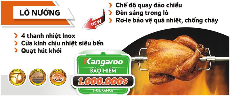 Lò Nướng Kangaroo KG188