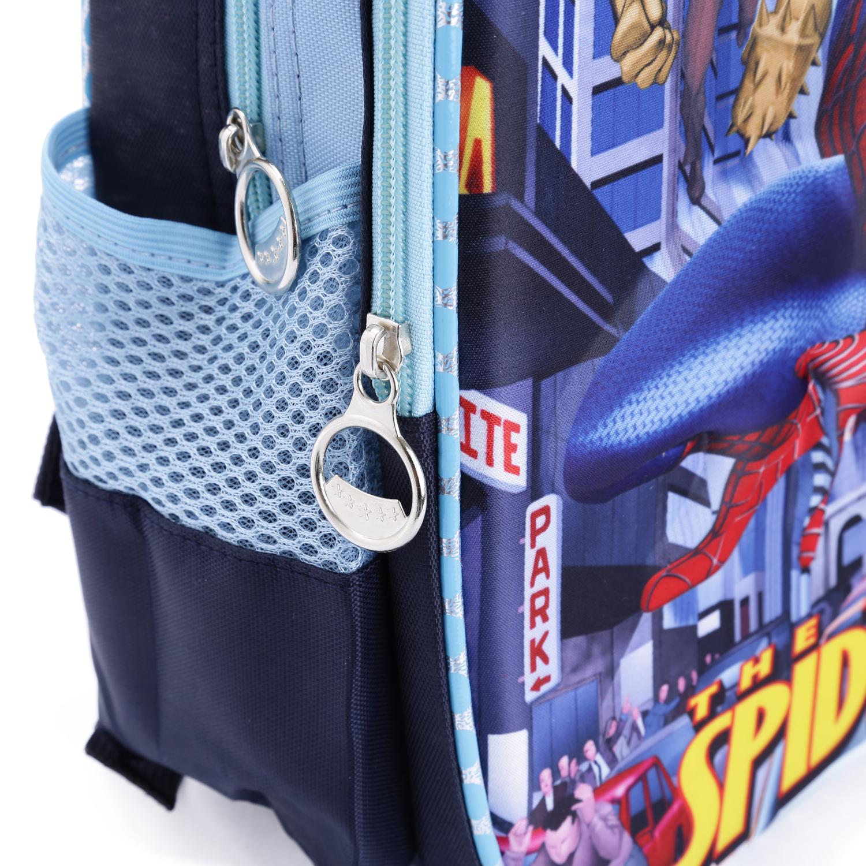 Ba Lô Mẫu Giáo Top School & Friends Hình 3D Nổi Spiderman YG-8823C