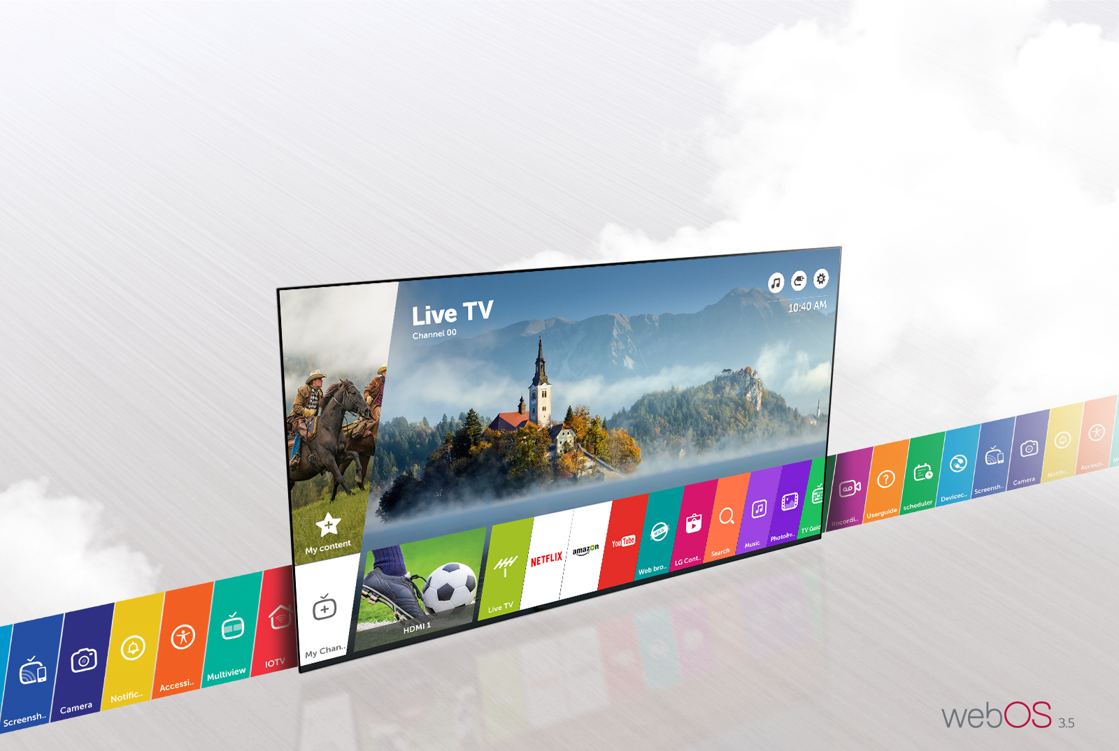 Smart Tivi Full HD 43 inch LG 43LJ614T