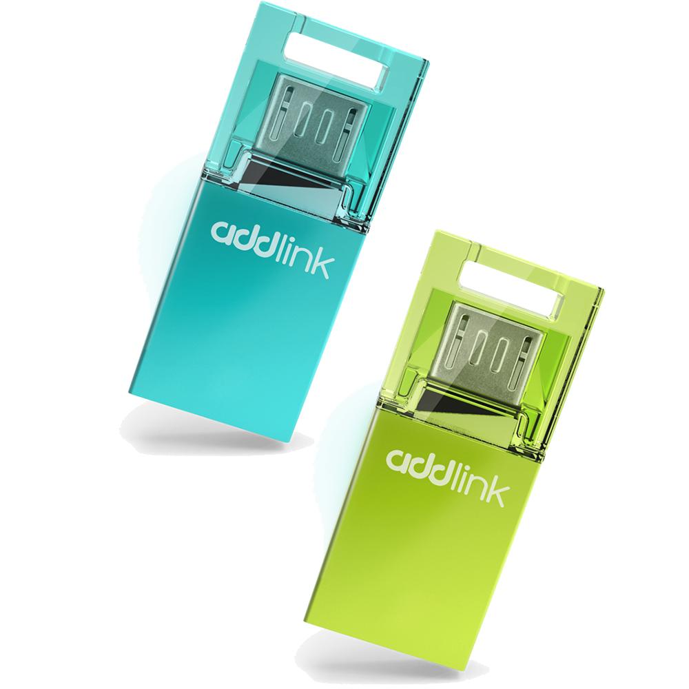 Dual USB Addlink T50 8GB - Micro USB & USB2.0