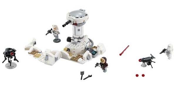 Mô Hình LEGO Star Wars TM - Đại Chiến Trên Hành Tinh Hoth 75138 (233 Mảnh Ghép)