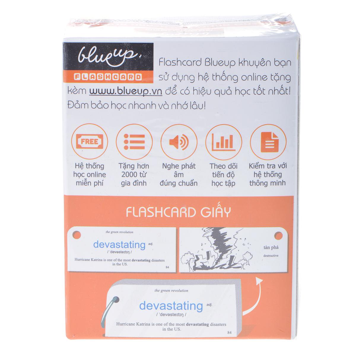 Hộp Blueup IELTS 600 Essential Flashcards For IELTS - Phần 1