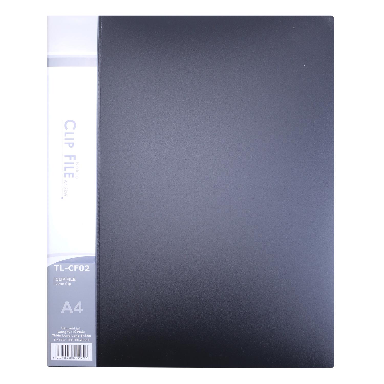 Bìa Kẹp Thiên Long A4 (1 ngắn) CF-02