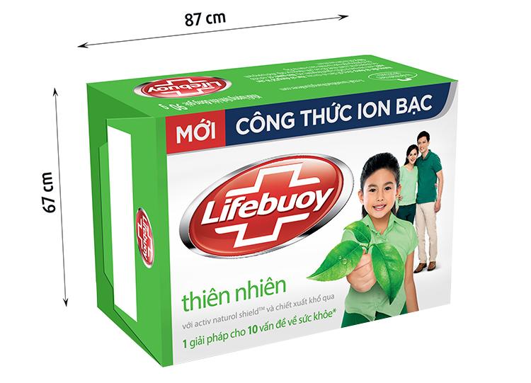 Xà Bông Cục Lifebuoy Thiên Nhiên 90g - 21126119