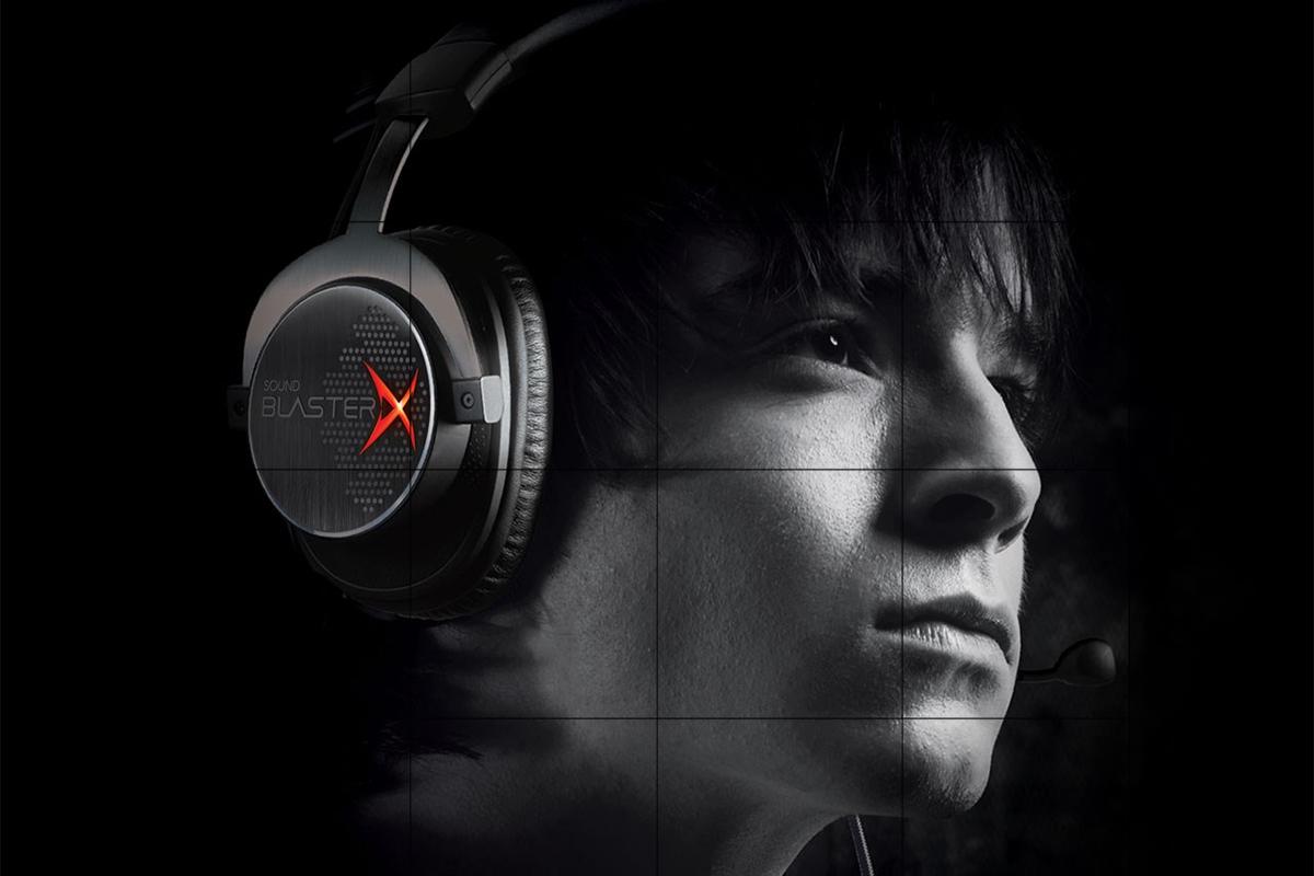 Tai Nghe Chụp Tai Creative BlasterX H7 - Hàng Chính Hãng