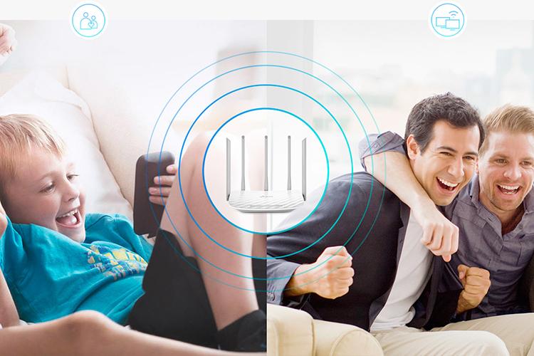 Router Băng Tần Kép Wi-Fi  AC 1350 TP-Link Archer C60