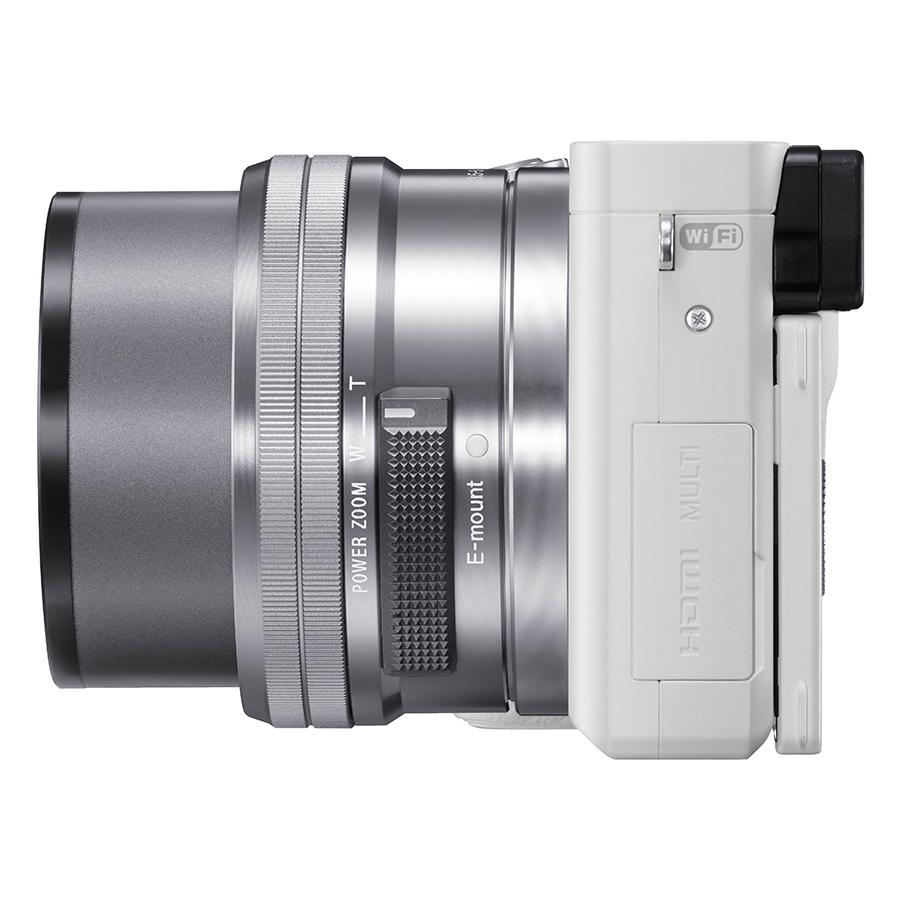 Máy Ảnh Sony Alpha A6000 + 16-50mm (Trắng) - Hàng Chính Hãng
