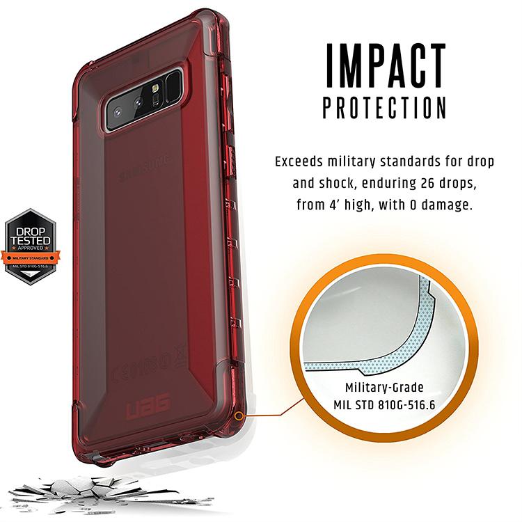 Ốp Lưng Samsung Galaxy Note 8 UAG Plyo - Hàng Chính Hãng