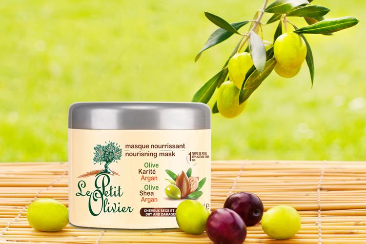Kem Ủ Le Petit Olivier Cho Tóc Khô Và Hư Tổn Olive Karité Argan (300ml) - 8265