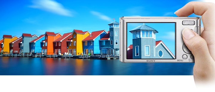 Sony W830 Chụp ảnh & quay phim rõ nét từ khoảng cách xa