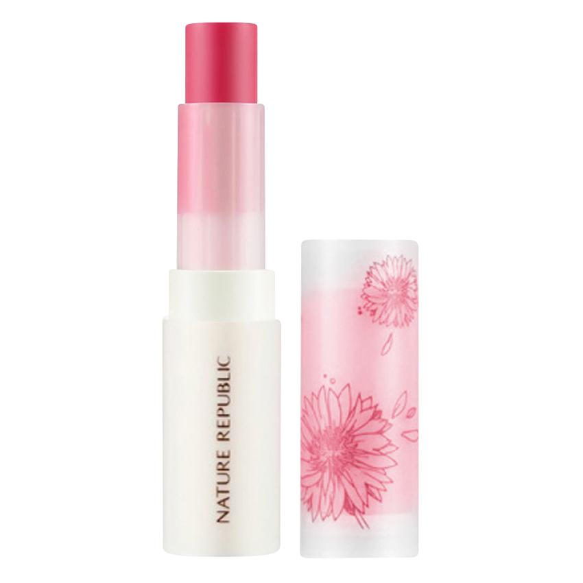 Son Môi Nature Repuclic By Flower Lip Care Stick SPF15 Red
