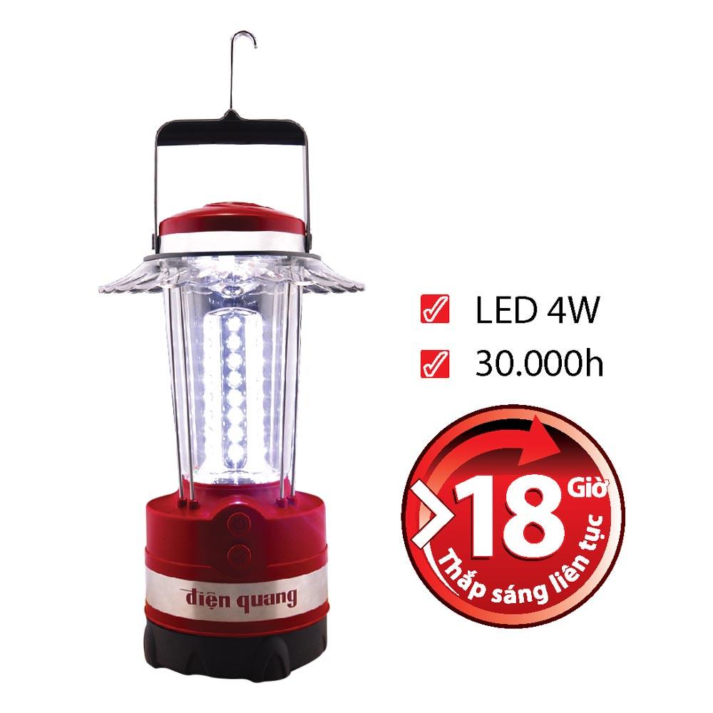 Đèn Sạc Led 4W Daylight Cầm Tay Điện Quang ĐQ PRL02 04765