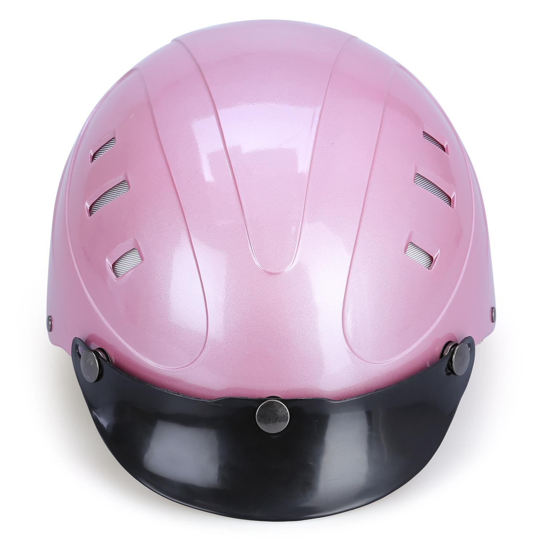 Mũ Bảo Hiểm 1/2 Đầu Protec Rosa Không Kính RLW (Size L)