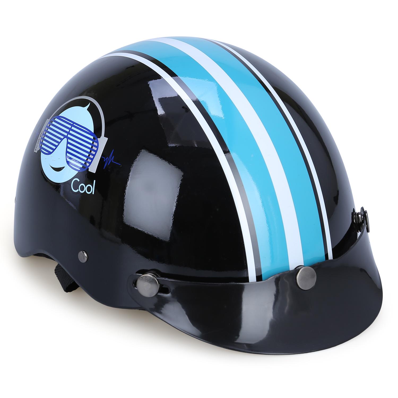 Mũ Bảo Hiểm Hai Màu Không Kính Protec Hiway HLWF