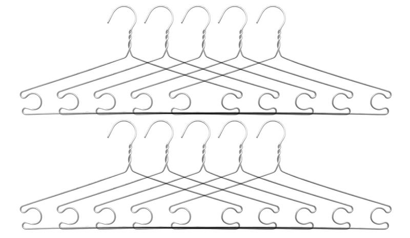 Móc Áo Nhôm Omega - 8936060490272 - 40.5cm