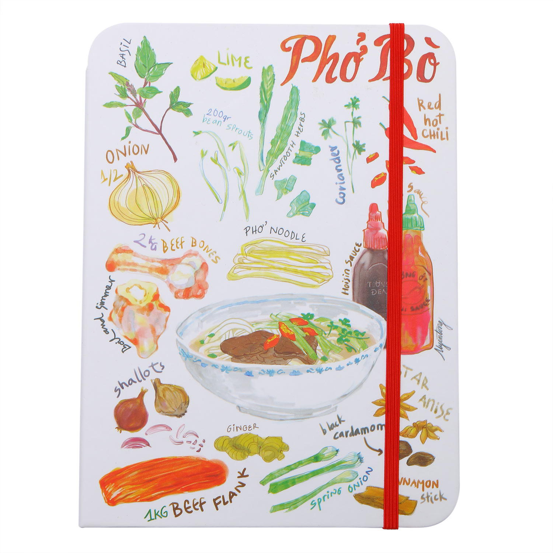 Sổ Tay Tasteful Vietnam - Phở Bò