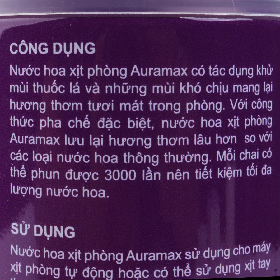 Bộ 6 Chai Nước Hoa Xịt Phòng Auramax Hương Potpourri