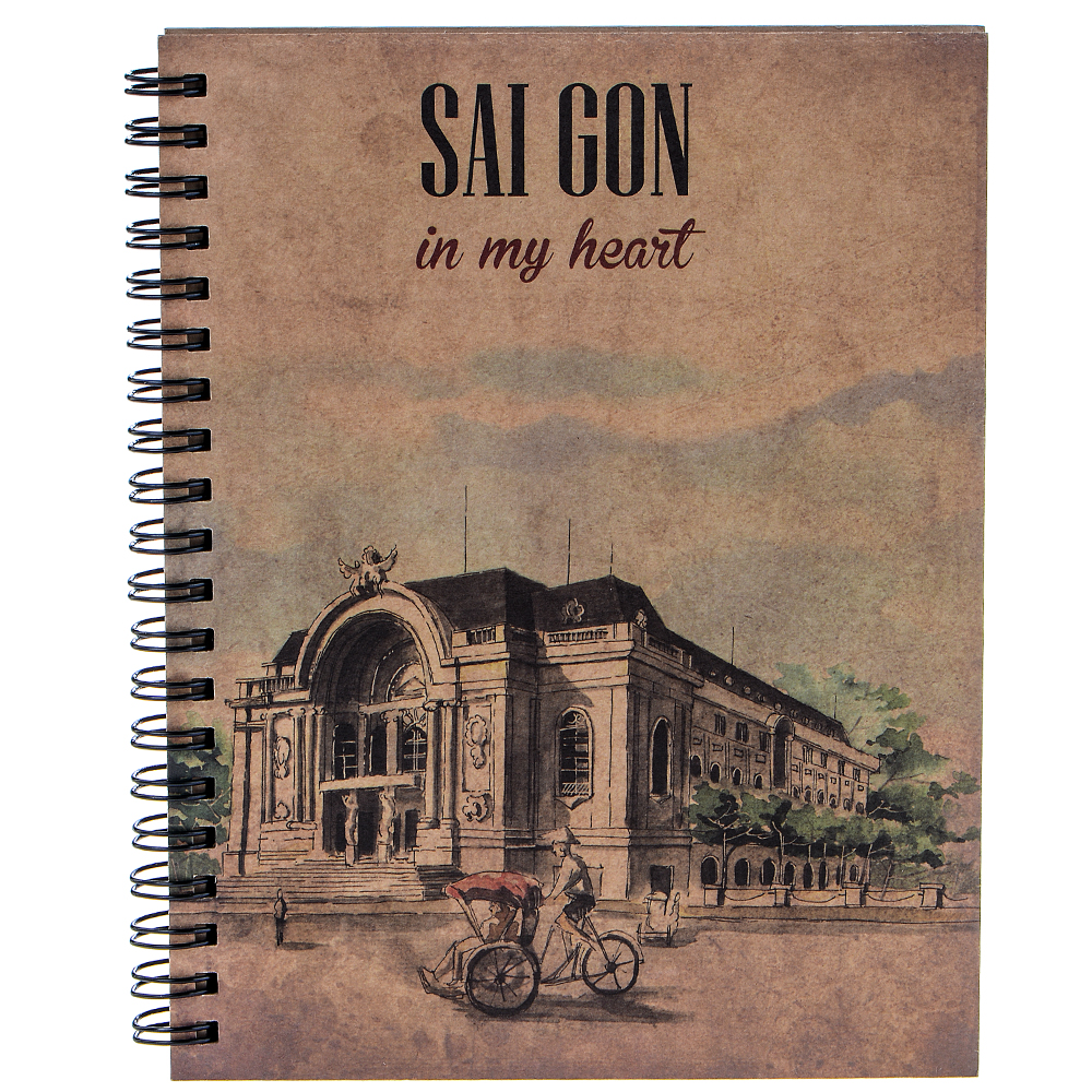 Combo Sổ Tay Sài Gòn In My Heart (Bộ 6 Cuốn)