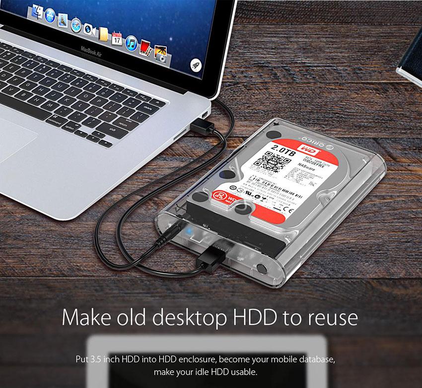 HDD Box 2.5 Inch Orico AD29U3 - Hàng Chính Hãng
