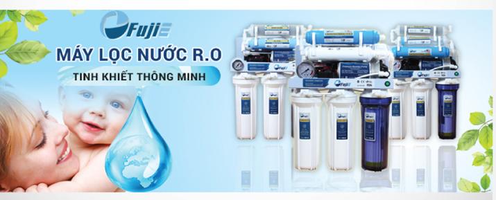 Máy Lọc Nước Tinh Khiết 8 Cấp Lọc RO Thông Minh FujiE RO-08 ( CAB )