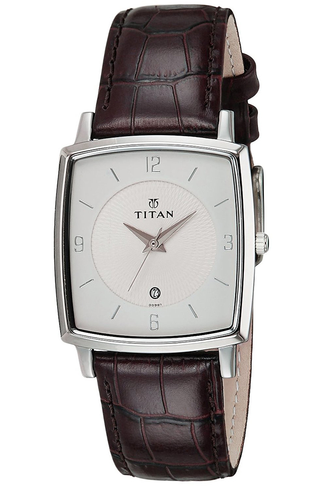 Đồng Hồ Nam Dây Da Titan 9159SL01