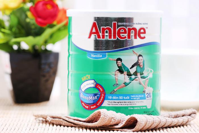 Sữa Bột Anene Bonemax - Dành Cho Người 19 - 50 Tuổi (Hương Vanilla, Hộp Thiếc 800g)