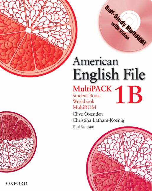 American English File Level 1 Student and Workbook Multipack B