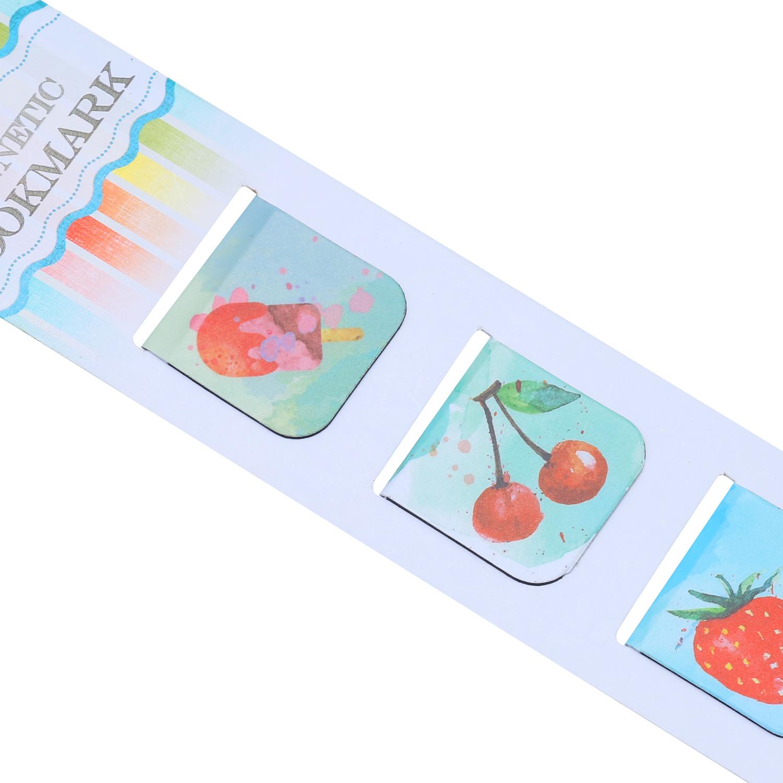 Bộ 3 Bookmark Nam Châm Kính Vạn Hoa - Sweet Summer