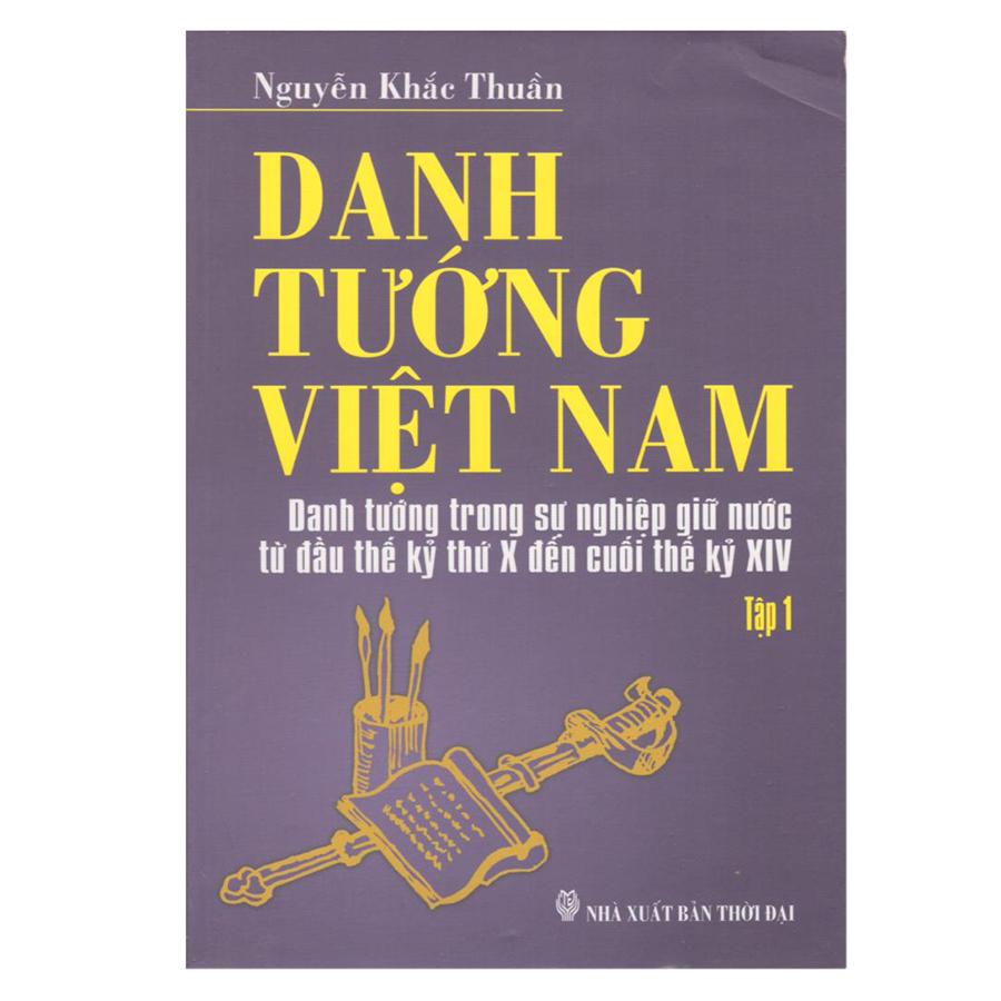 Danh Tướng Việt Nam (Bộ 4 Tập)