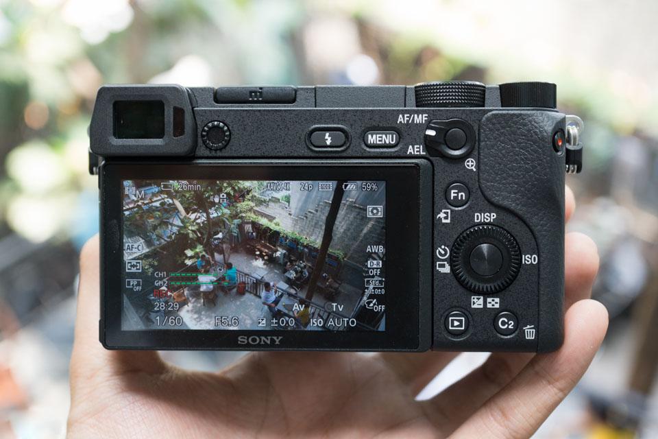 Máy Ảnh Sony Alpha A6300 + Kit 16-50mm