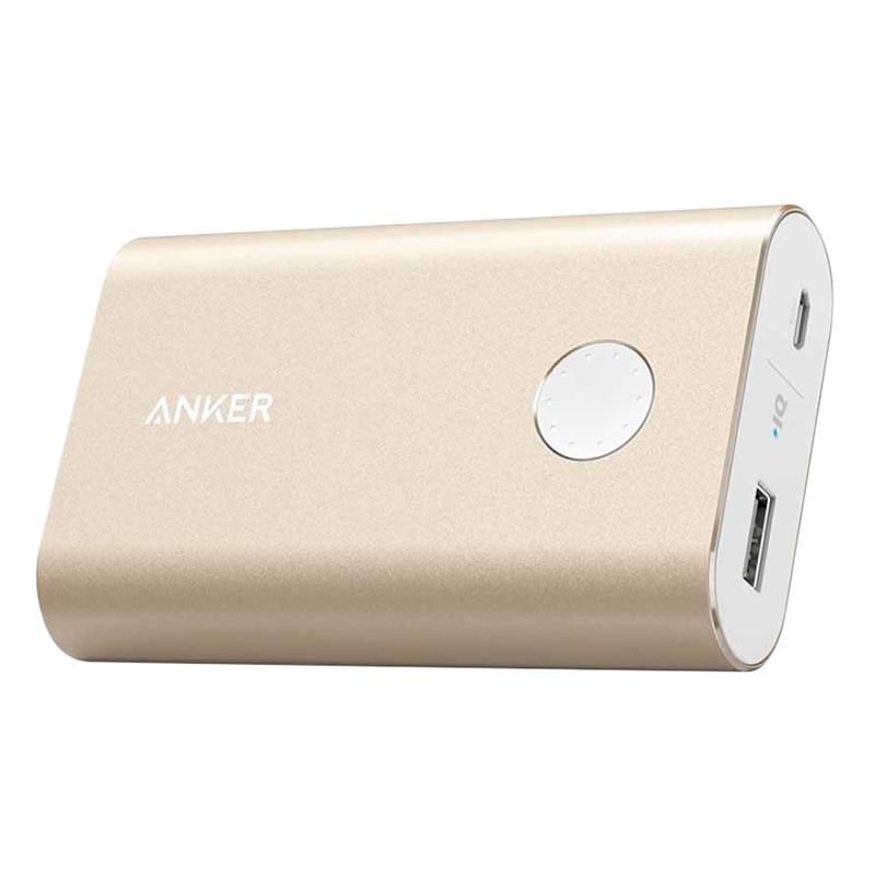 Pin Sạc Dự Phòng Anker PowerCore+ 10050mAh Hỗ Trợ Sạc Nhanh QC 2.0 - A1310 - Hàng Chính Hãng
