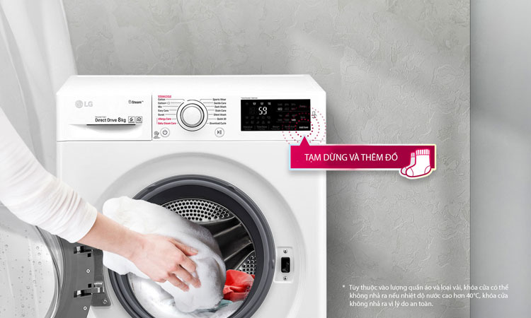 Máy Giặt Cửa Trước Inverter LG FC1408S3E (8kg)