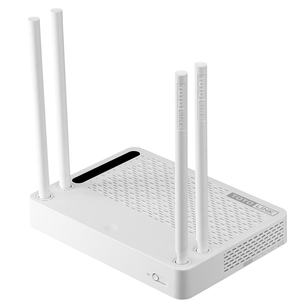 TotoLink A2004NS - Bộ phát Wifi chuẩn AC tốc độ 867Mbps Mở Rộng Sóng