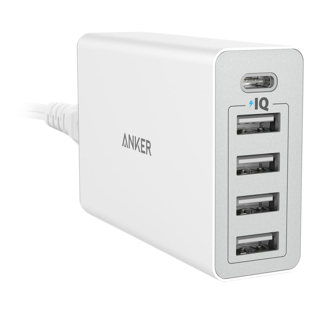 Adapter Sạc 5 Cổng Anker PowerPort 40W Tích Hợp Cổng USB Type-C - A2052 - Hàng Chính Hãng - 1367767115958,62_618425,850000,tiki.vn,Adapter-Sac-5-Cong-Anker-PowerPort-40W-Tich-Hop-Cong-USB-Type-C-A2052-Hang-Chinh-Hang-62_618425,Adapter Sạc 5 Cổng Anker PowerPort 40W Tích Hợp Cổng USB Type-C - A2052 - Hàng Chính Hãng