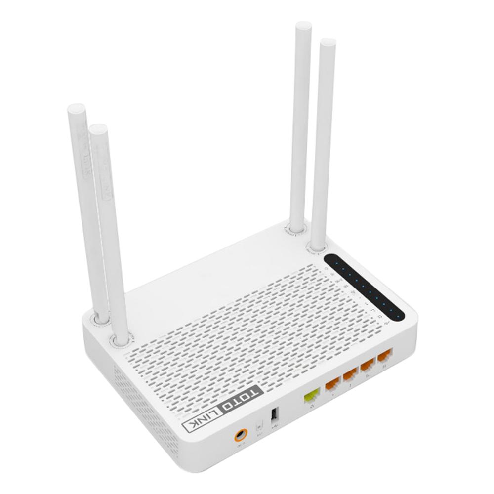 TotoLink A3002RU - Bộ Phát Wifi Chuẩn AC Tốc Độ 1200Mbps Mở Rộng Sóng - Hàng Chính Hãng