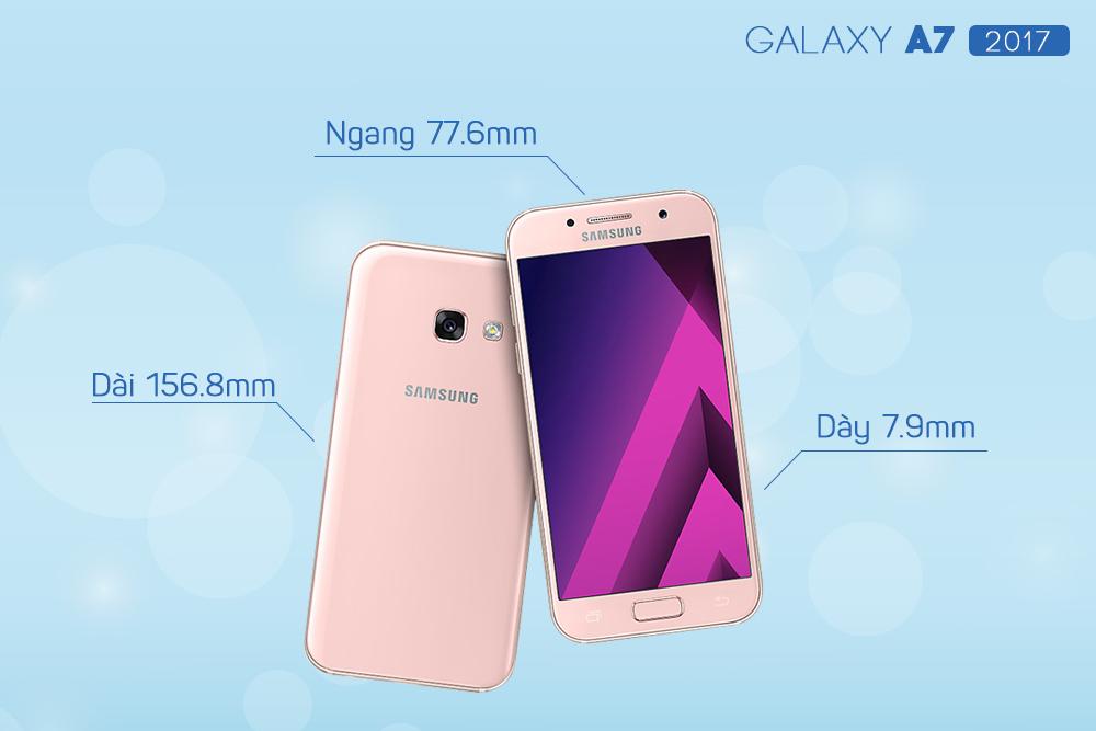 Samsung Galaxy A7 2017 - Hàng Chính Hãng