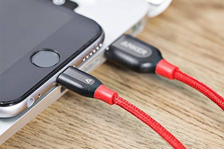 Cáp Sạc Anker PowerLine+ Lightning 0.3m - A8124