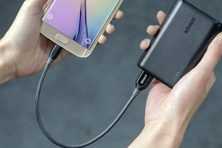 Cáp Sạc Anker PowerLine+ Micro USB 0.3m - A8141