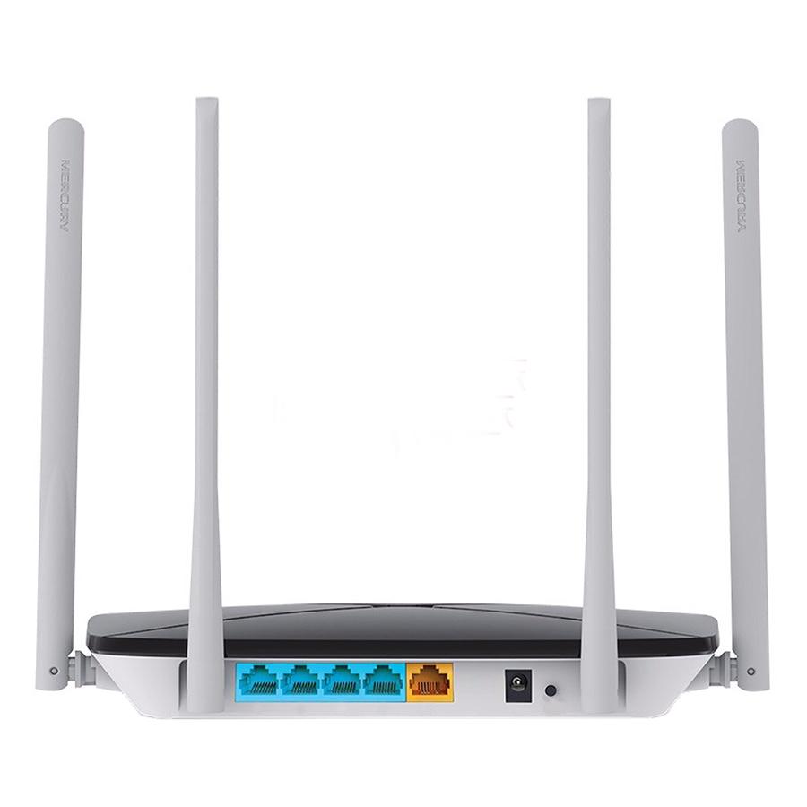 Router Wifi Băng Tầng Kép AC1200 Mercusys AC12 - Hàng Chính Hãng