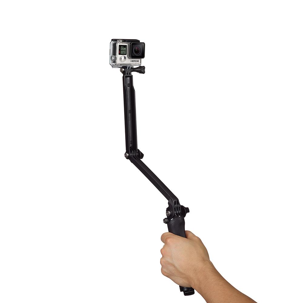 Chân Gắn 3 Chiều -3 Way Cho GoPro (Chính Hãng)