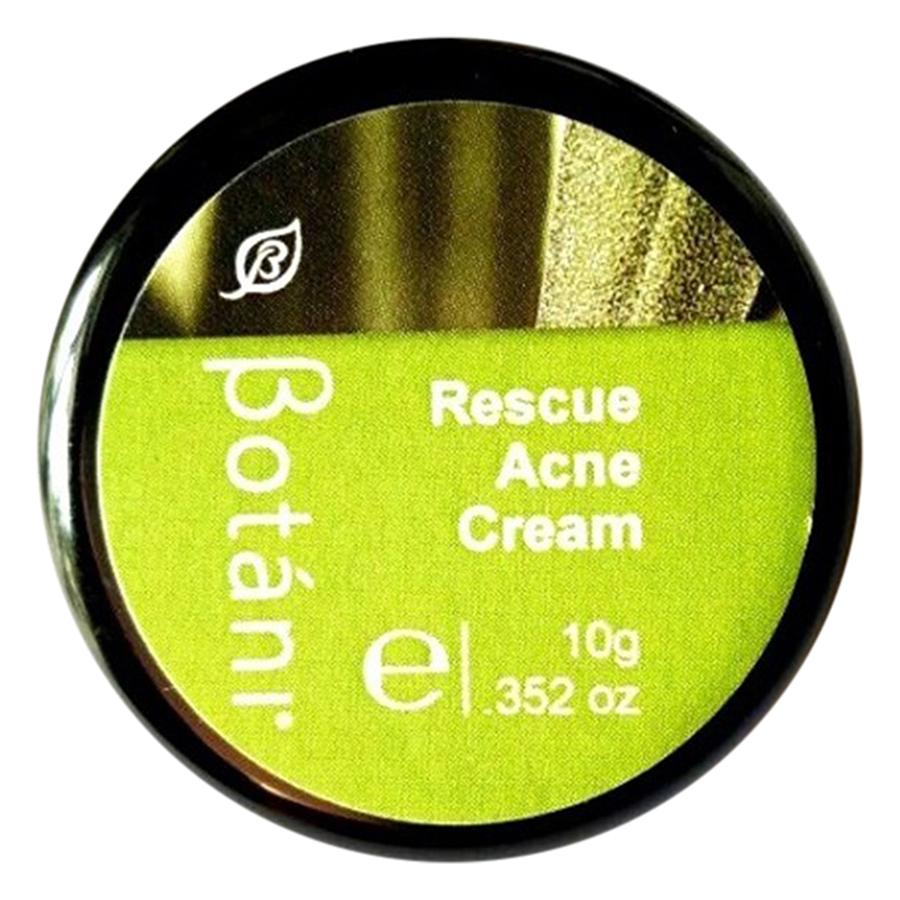 Kem Giảm Mụn Hữu Cơ Botani Rescue Acne Cream BPSS025 (10g)