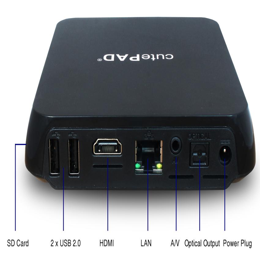 TV SmartBox cutePad TB-A8050 2K/4K & Bluetooth