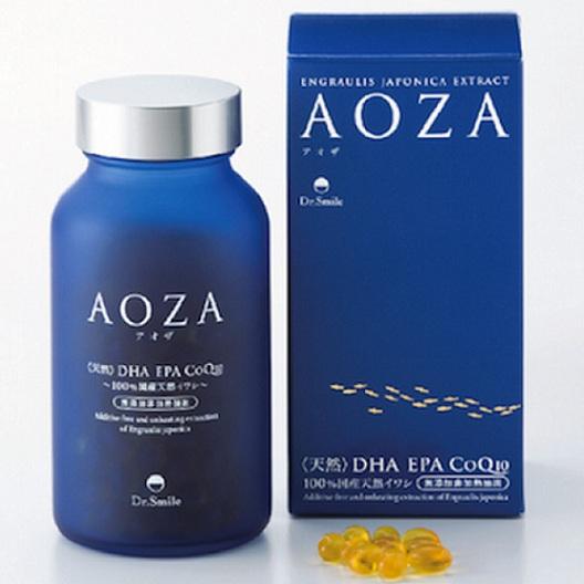 Thực Phẩm Chức Năng Bảo Vệ Sức Khỏe Aoza Tinh Dầu Cá Sardine DHA EPA CoQ10 (Hộp 300 Viên) - AOZA_1