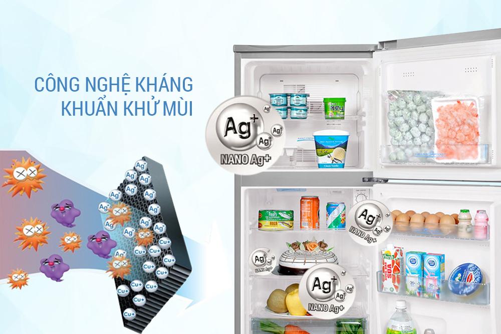 Tủ Lạnh Aqua AQR-145BN (130L) - Bạc