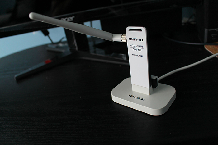 TP-LINK Archer T2UH - Bộ Chuyển Đổi USB Không Dây Độ Lợi Cao Băng Tần Kép AC600